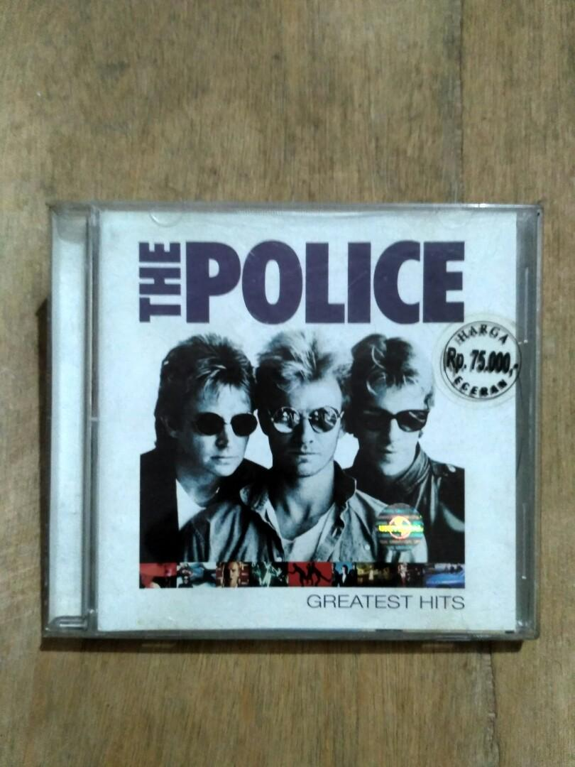 CD original The Police - Greatest Hits