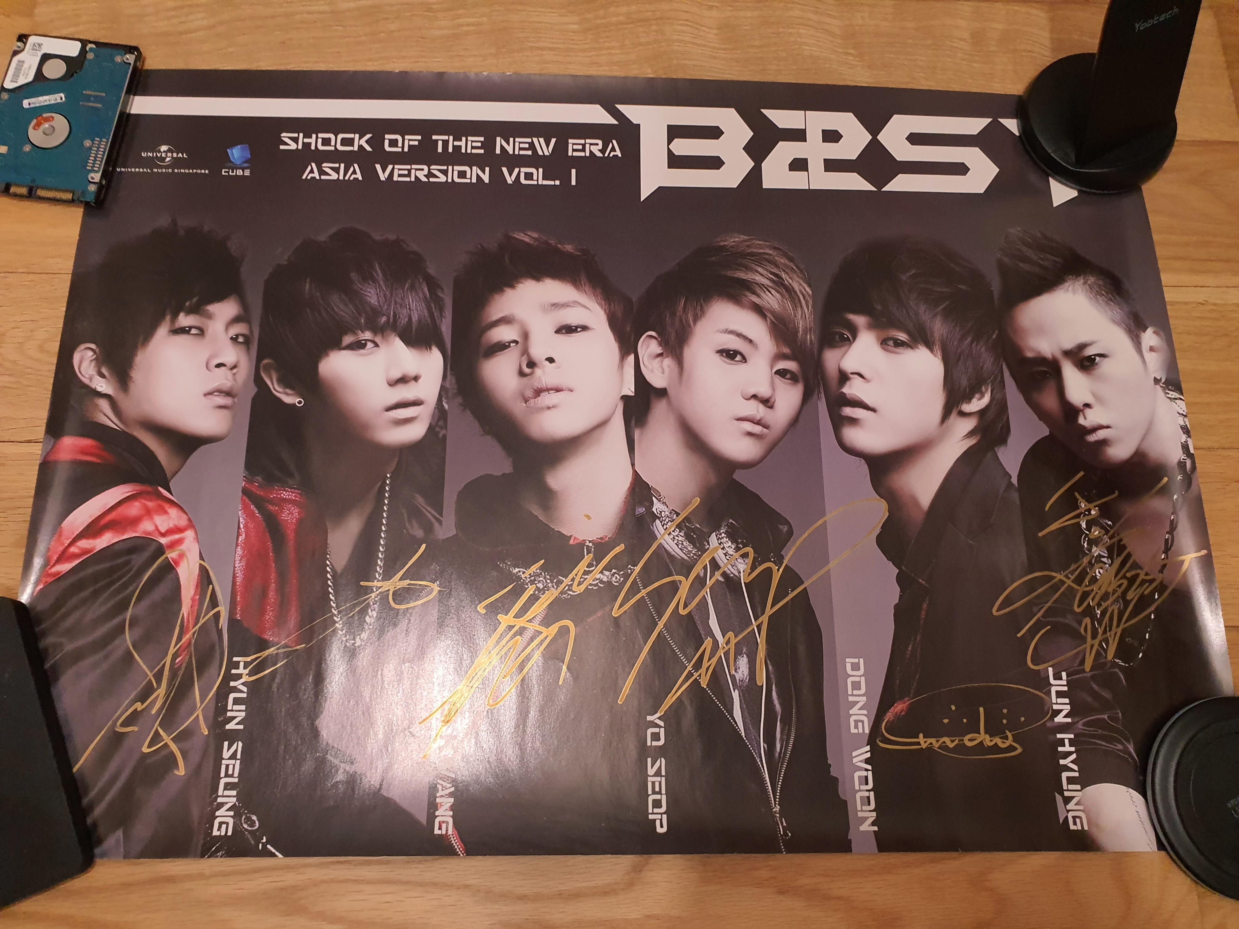 CLEARANCE] Kpop posters EXO, B21ST BEAST, SM TOWN DBSK TVXQ SUPER ...