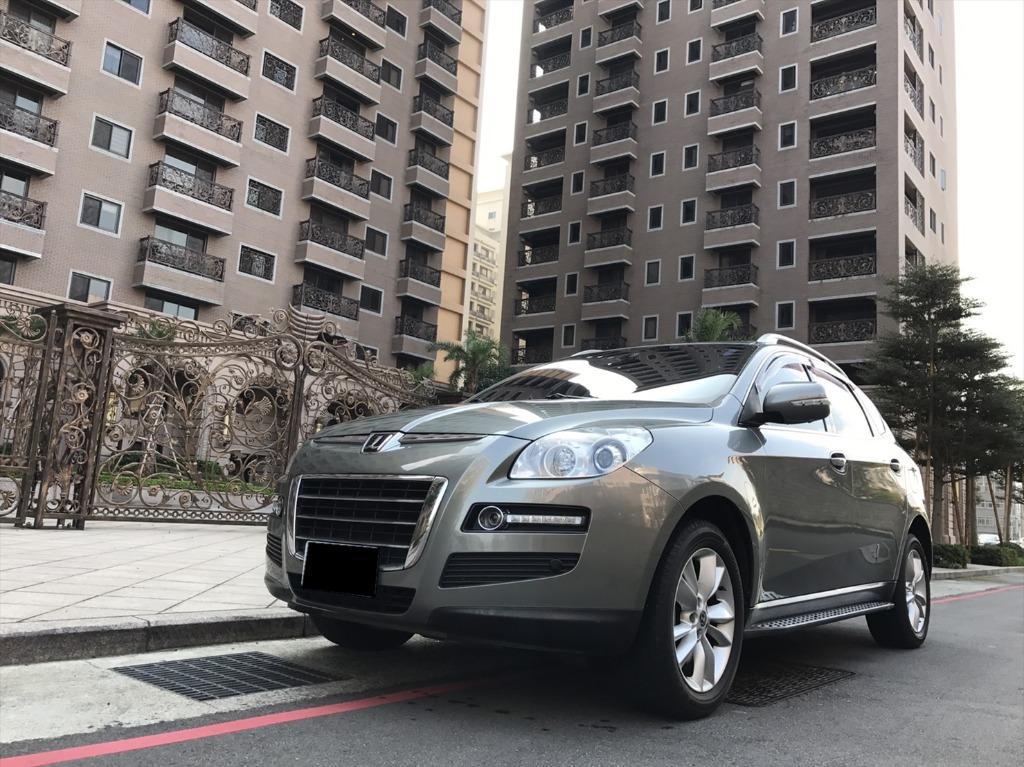 【FB搜尋桃園阿承】納智捷 超人氣U7 2011年 2.2CC 灰色 二手車 中古車