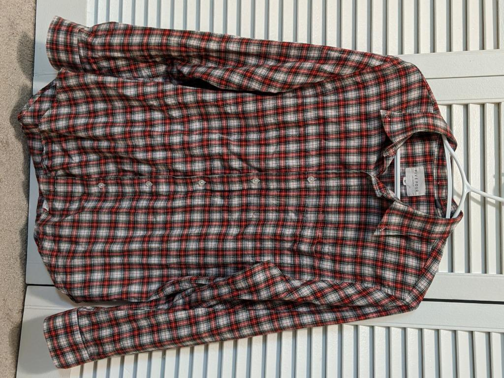 Five Four Los Angeles Plaid Long Sleeve