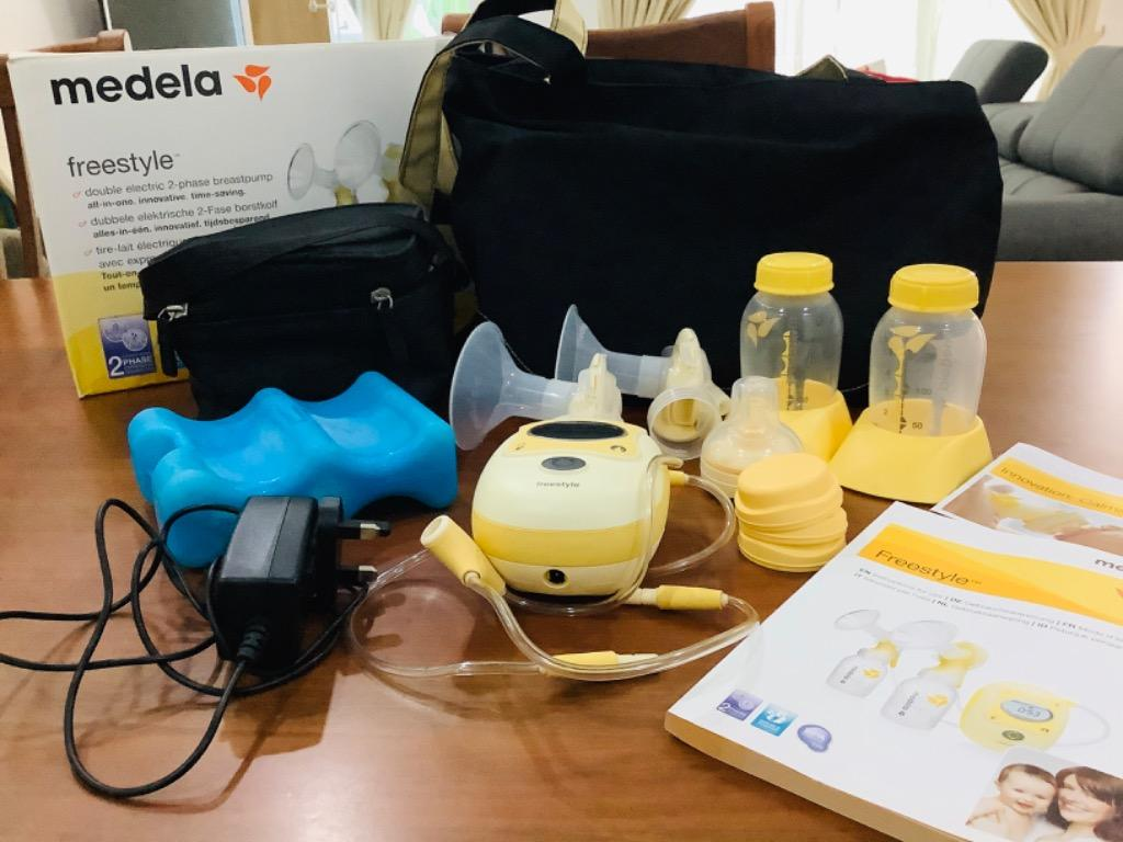 Medela Freestyle Double Breast Pump Babies Kids Nursing Feeding On Carousell