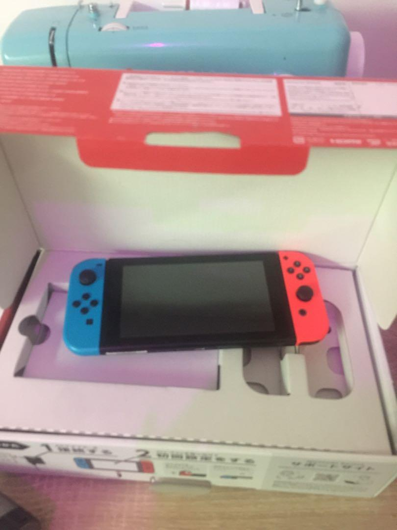 Nintendo Switch v1 (5 months use)