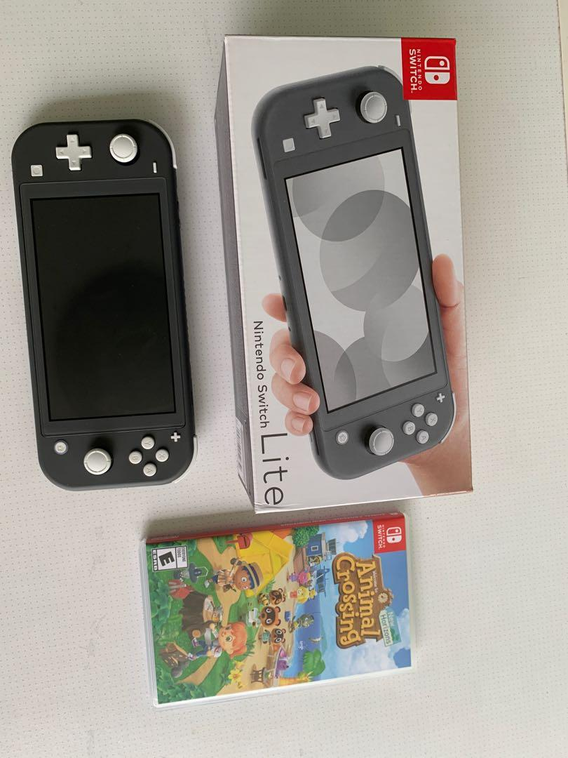 Nintendo Switch Lite Animal Crossing Switch Lite Case Toys Games Video Gaming Consoles On Carousell