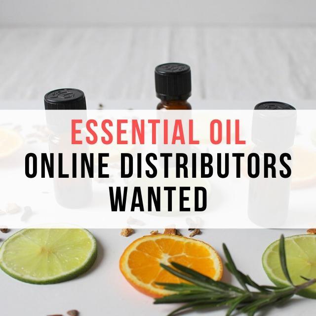 Online Distributors / Wholesales Needed (Essential Oils)