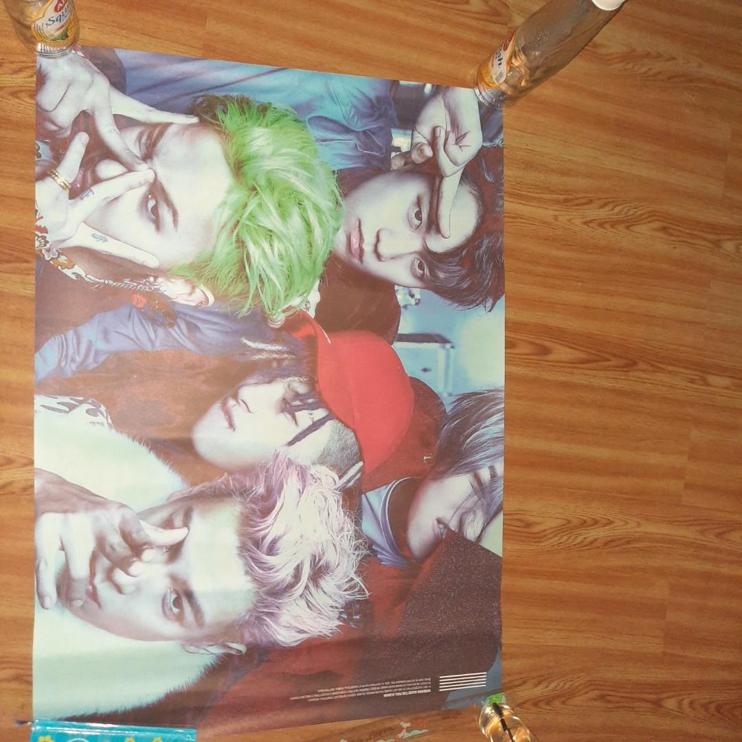 Poster Bigbang Made Album Original.