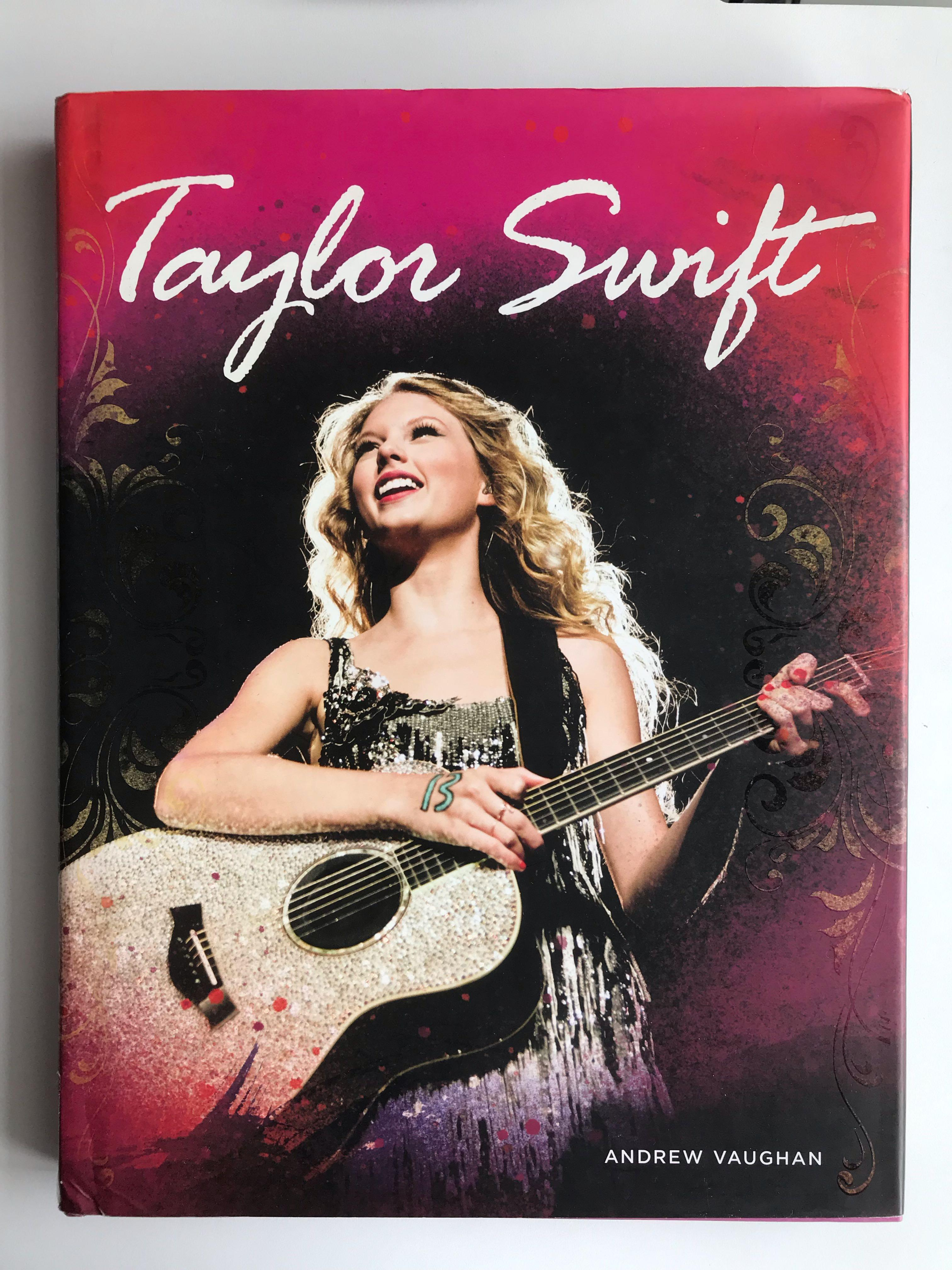 Taylor Swift Book Books Stationery Books On Carousell