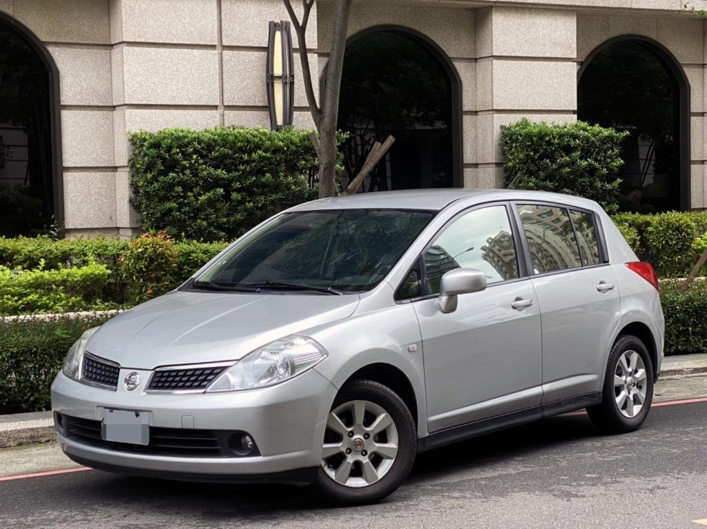 TIIDA 摸門解鎖 免鑰匙啟動 雙安全氣囊 空間大好運用 價格划算 輕鬆入手 停車方便 稅金省