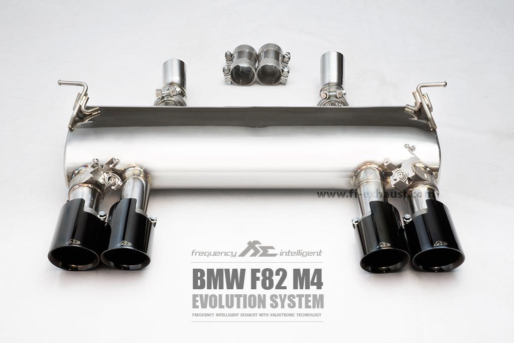 【YGAUTO】FI BMW F82 M4(Evolution System) 中尾段閥門排氣管 全新升級 底盤