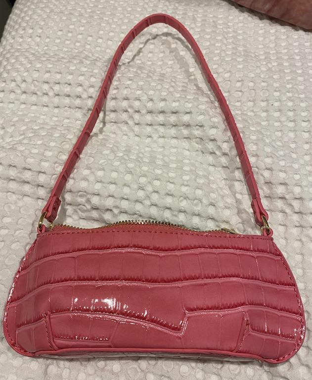 90's pink shoulder bag