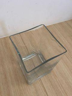 透明方型花瓶