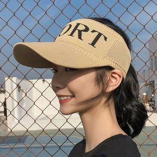 三色空頂戶外帽