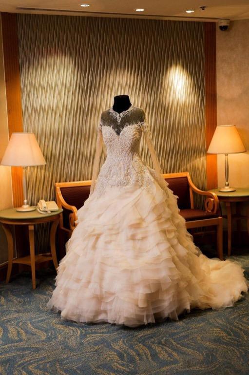 Jazel Sy Wedding Gown (2-way)