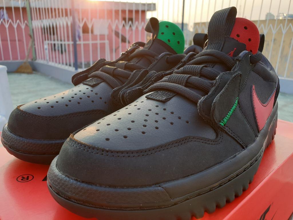 Ghetto Gastro x Air Jordan 1 Low React 'Fearless'
