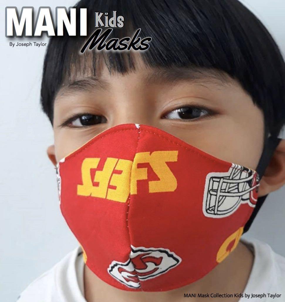 MANI Mask Kid Collection by Joseph Taylor 24-No Sew Masks