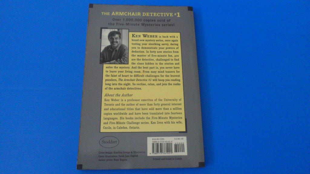 The Armchair Detective #1, Books & Stationery, Fiction on ...