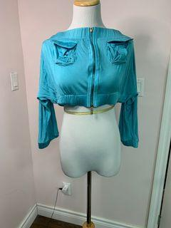 Vintage Marciano Off the shoulder  cropped top