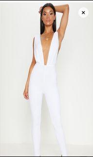 White jumpsuit.  New.
