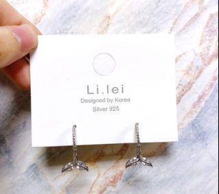 人魚尾巴-耳環(現貨)