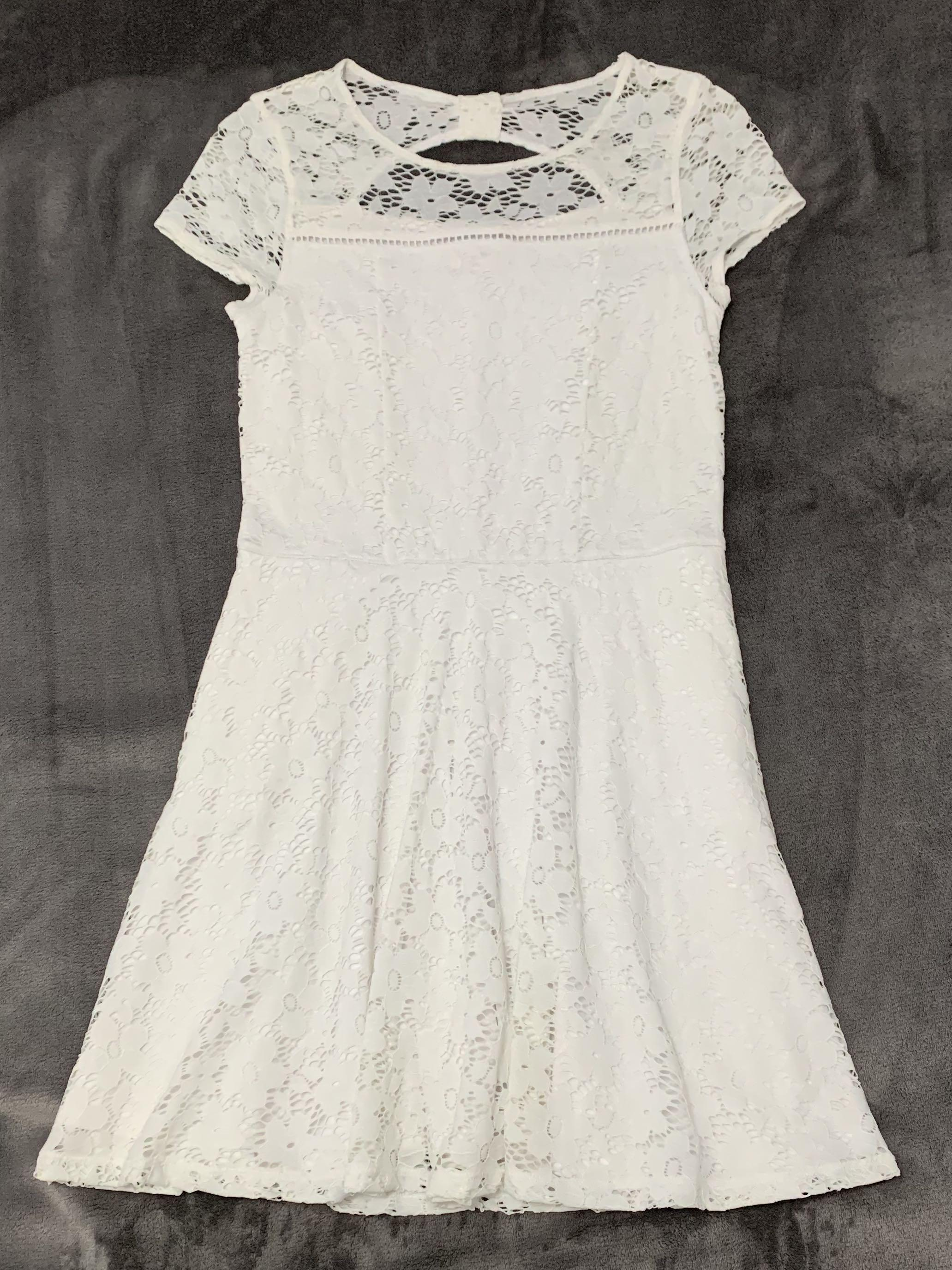 Abercrombie Kids Lace Spring Dress
