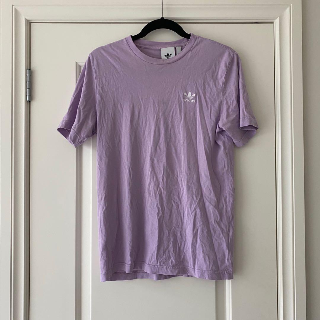 Adidas Lilac T Shirt