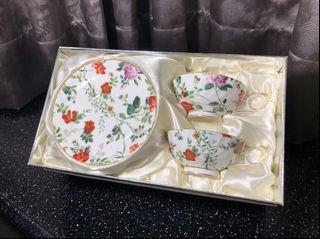 GM骨瓷 下午茶杯盤組