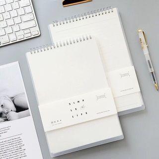 Grid Notebook Muji Inspired