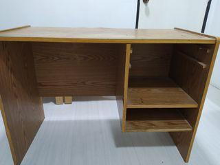 Meja belajar study table desk wooden