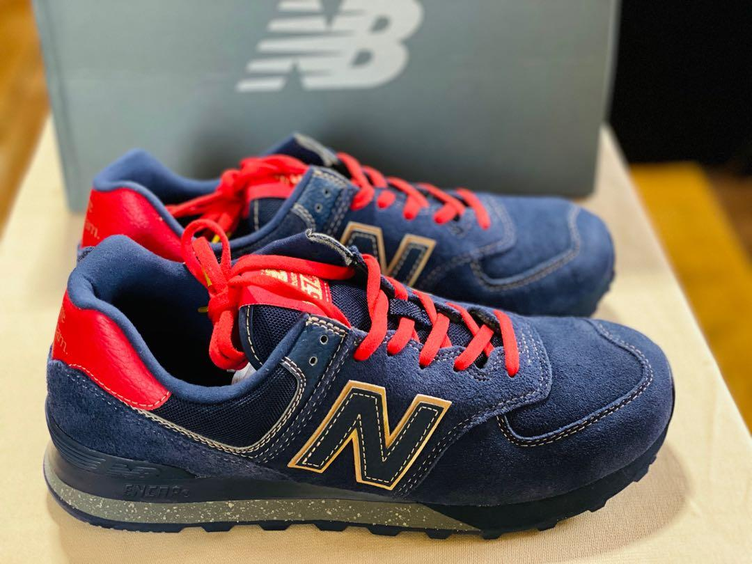 "New Balance 574 ""BHM"", Men's Fashion, Footwear, Sneakers on Carousell"