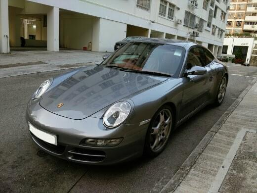 Porsche 911 3.8 Carrera S (A)