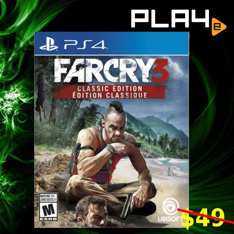 Ps4 Far Cry 3 Classic Edition R1 2311785 Brand New Toys Games Video Gaming Video Games On Carousell