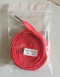 Shoelace flat 115cm pink