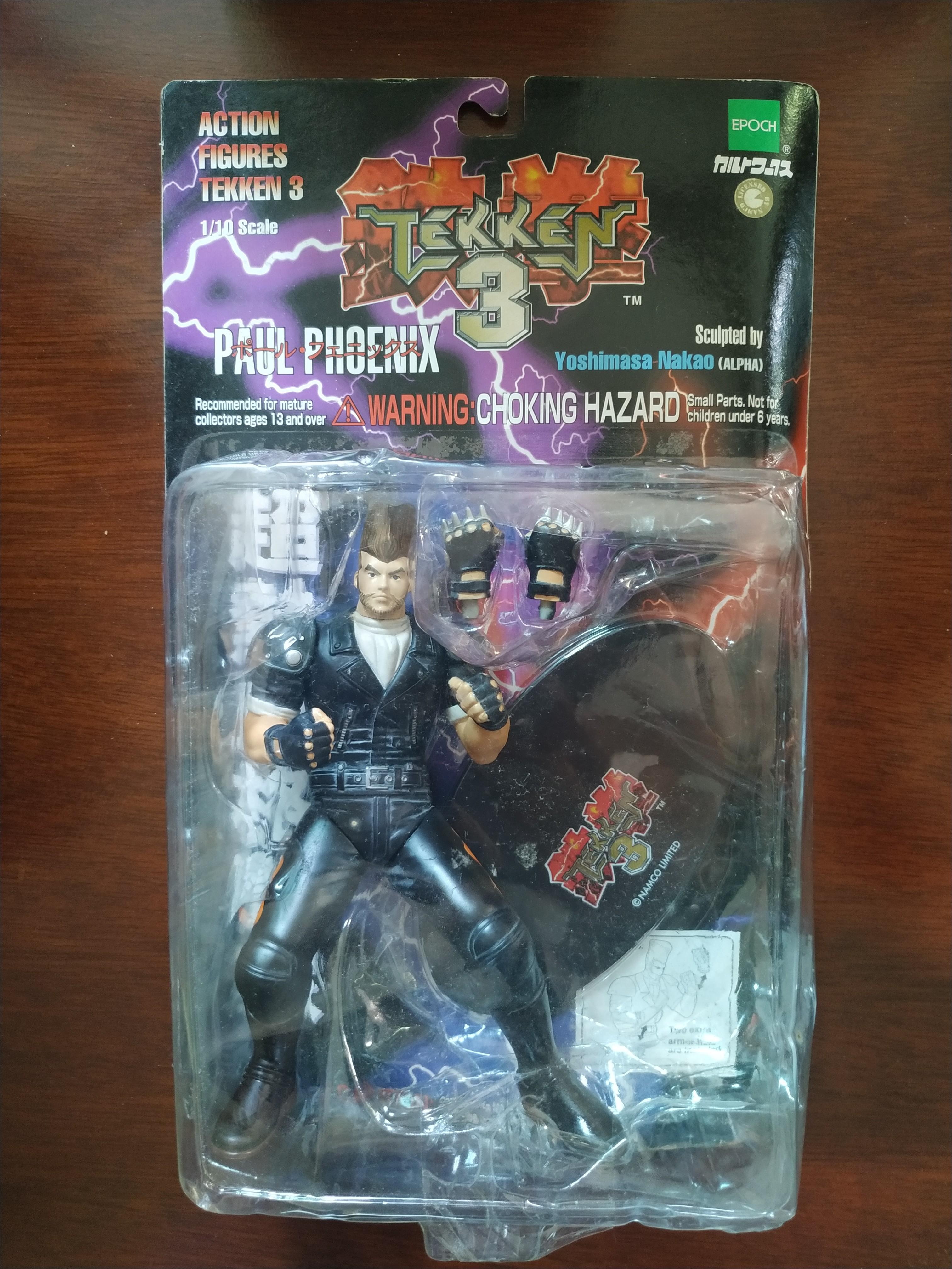 Tekken 3 Epoch Paul Phoenix Toys Games Toys On Carousell
