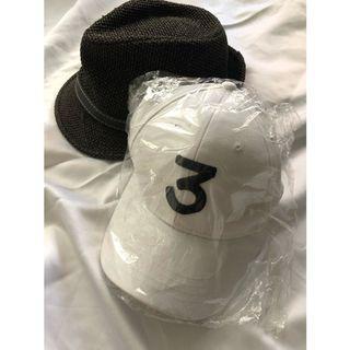 男女刺繡White打球帽 棒球帽 鴨舌帽 遮陽帽