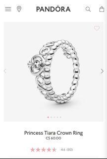 Brand New- Princess Tiara Ring
