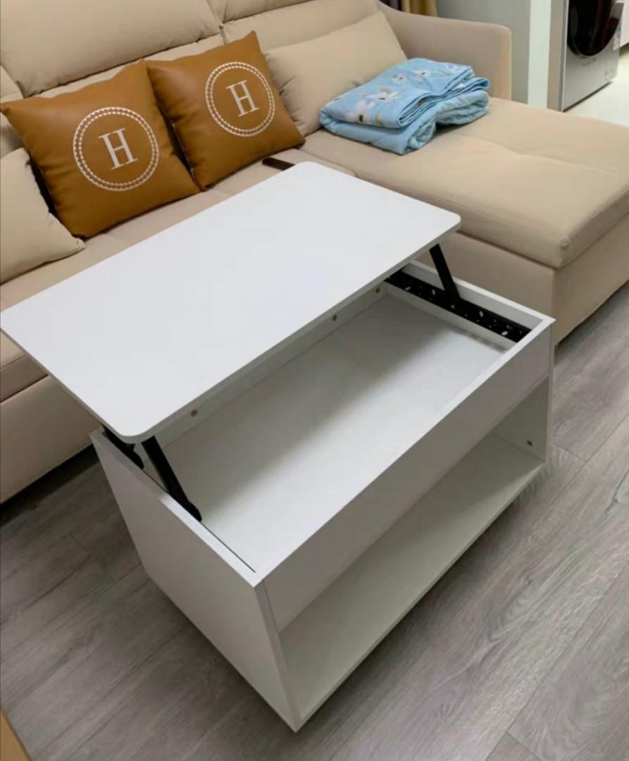 Picture of: Convertible Coffee Table 80 X 50 X 48 5 Furniture Tables Chairs On Carousell
