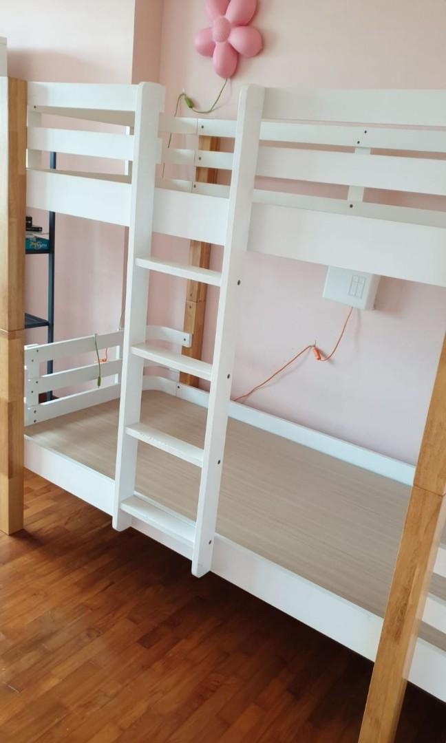 Kids Bunk Bed Double Deck Furniture Beds Mattresses On Carousell