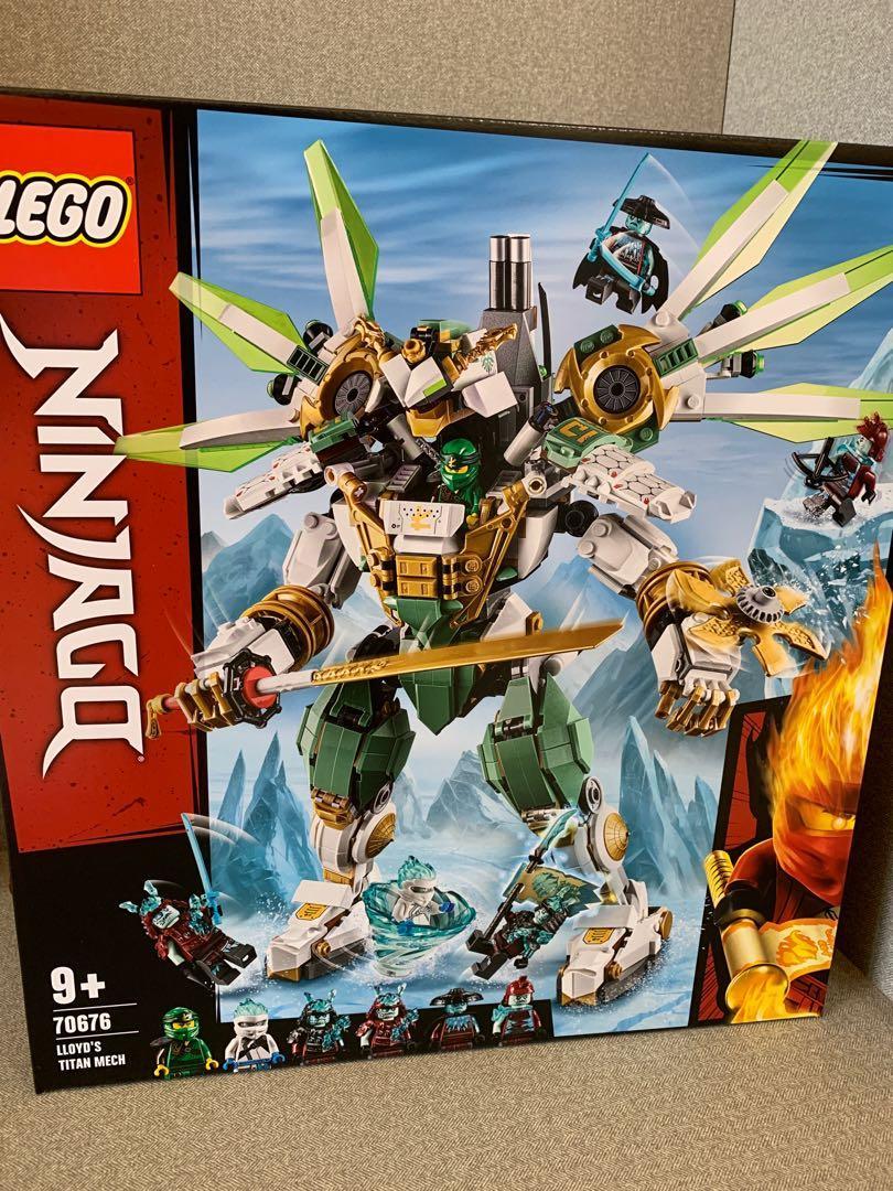 Lego 70676 Lloyd S Titan Mech Toys Games Bricks Figurines On Carousell