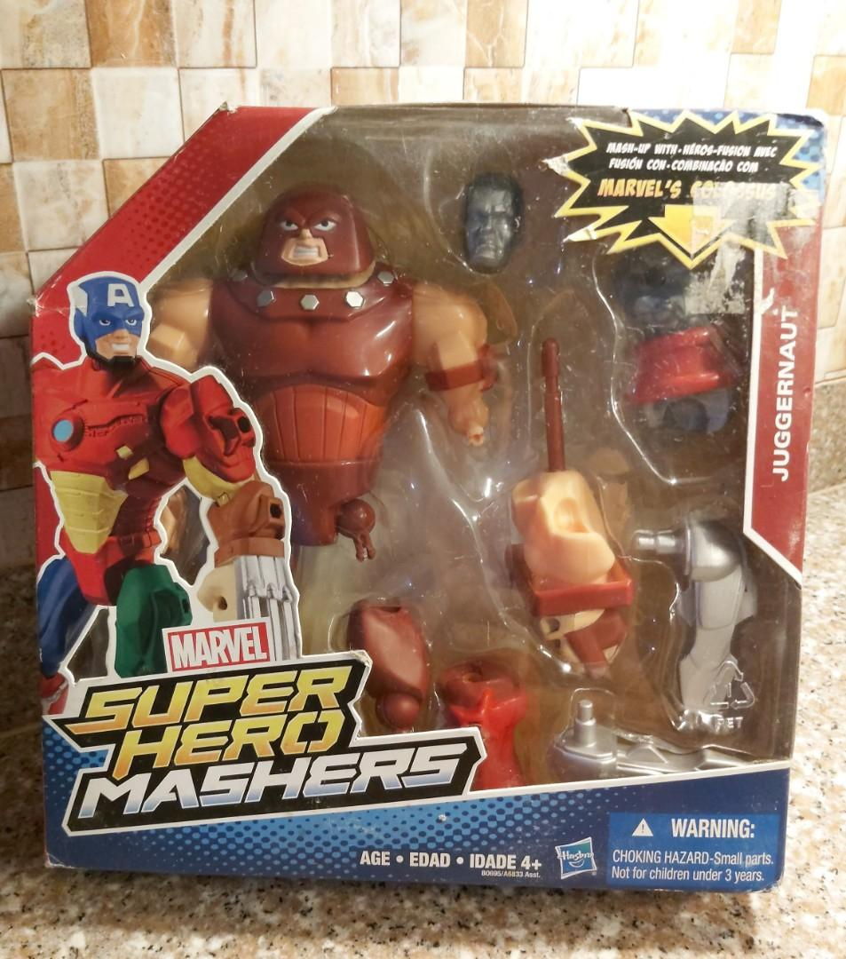 Marvel Super Hero Mashers Deluxe Juggernaut New in Box