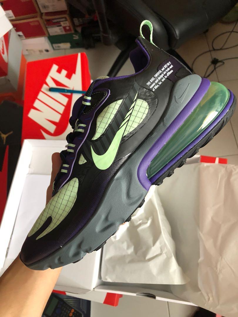 Nike Air max 270 react, Men's Fashion