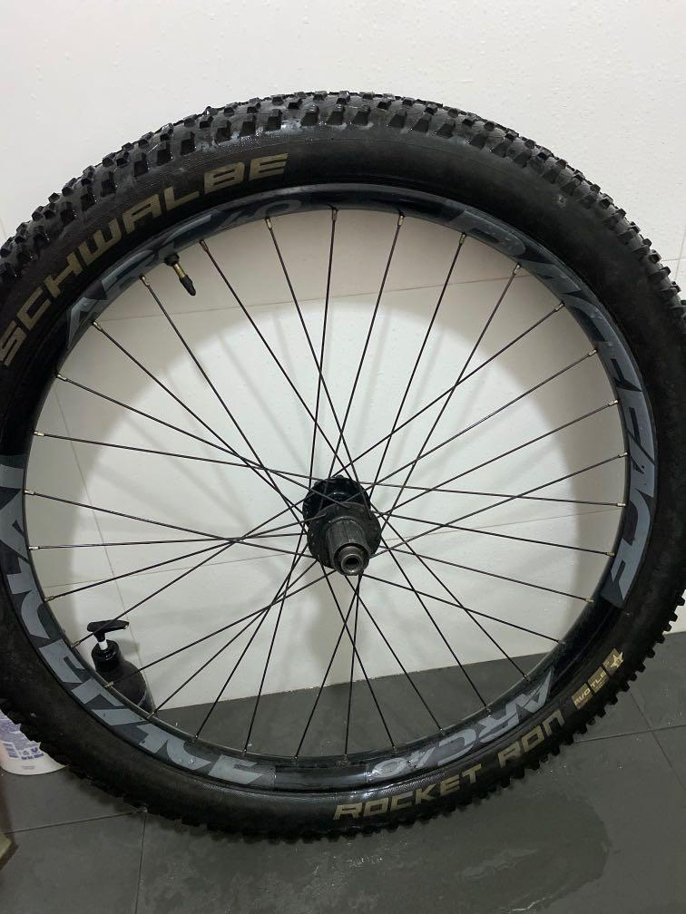 Race Face ARC 40 27.5 Rim Black 32H MTB Mountain Bike Trail Plus Tubeless Ready