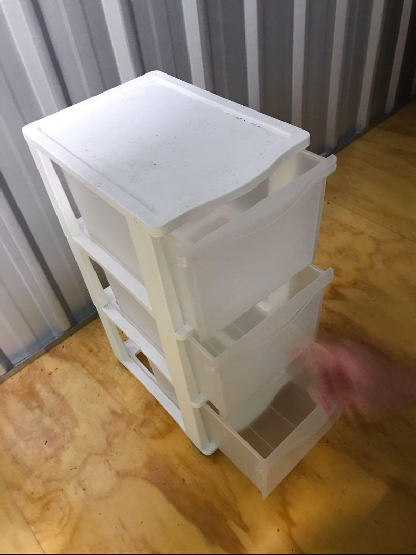 3 tier drawers