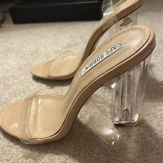 5.5 clear heels