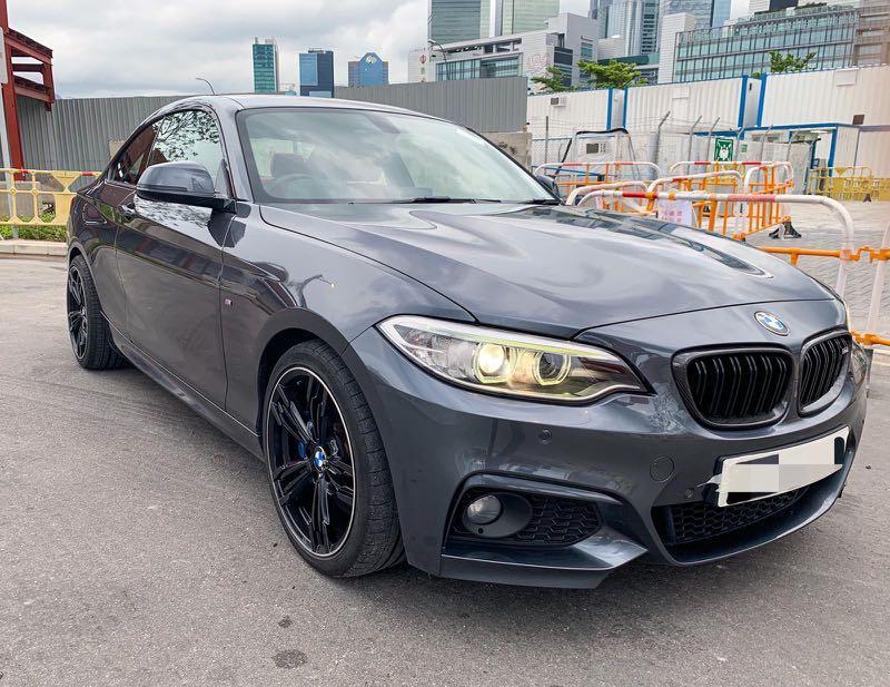 BMW 220i Coupe Sport (A)