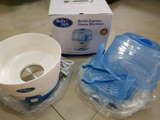 Turun Harga!! Bottle Sterilizer Baby Safe - Kapasitas 6 Botol