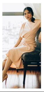 DIJUAL MURAH : Ariana dress (beige)