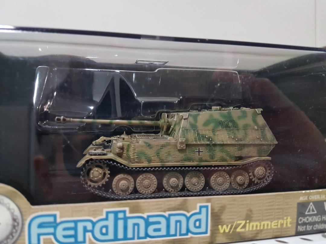 1 72 Ferdinand Elefant Panzer Tank W Zimmerit Eastern Front 1943 Dragon Armor 60124 Diecast Model Tank Toys Games Bricks Figurines On Carousell The leopard 2a5 is a main battle tank for west germany that appears in wargame: elefant panzer tank w zimmerit eastern