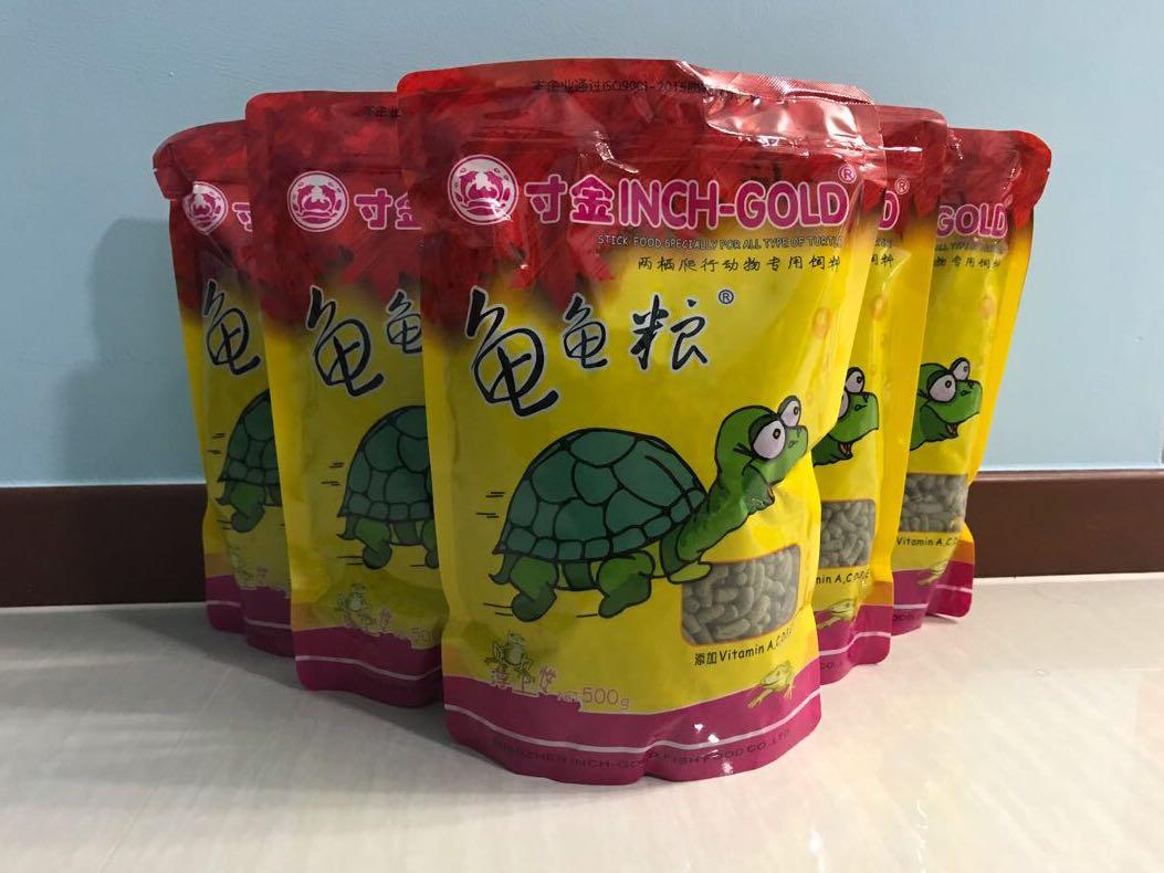 Good Deal Turtle Pellet 500g Pet Supplies For Small Animals Pet Food On Carousell