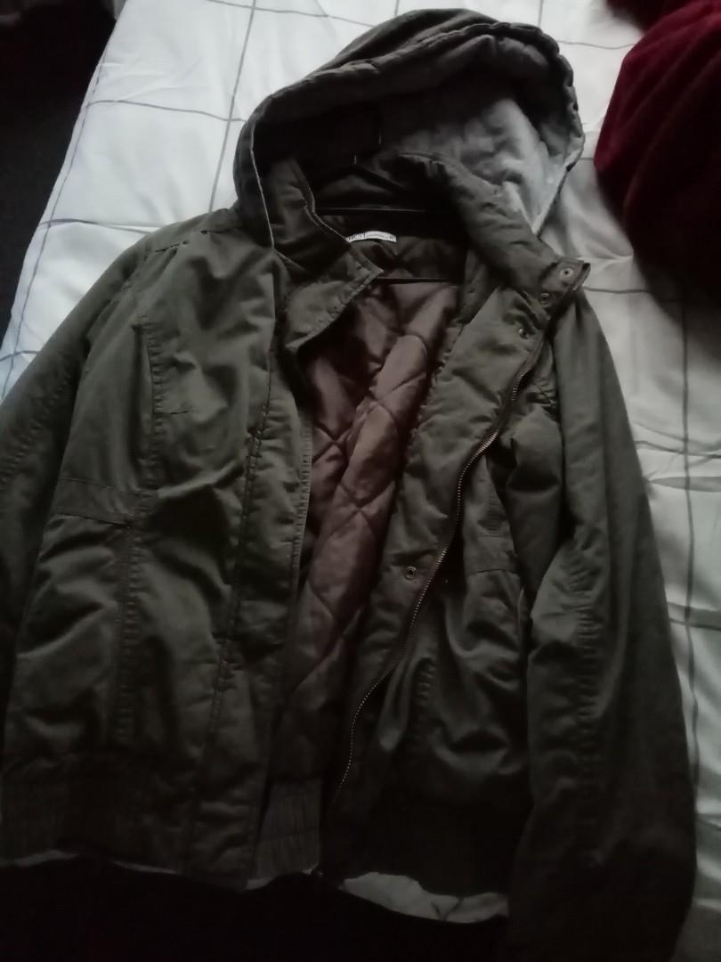Kahki Green bombers jacket