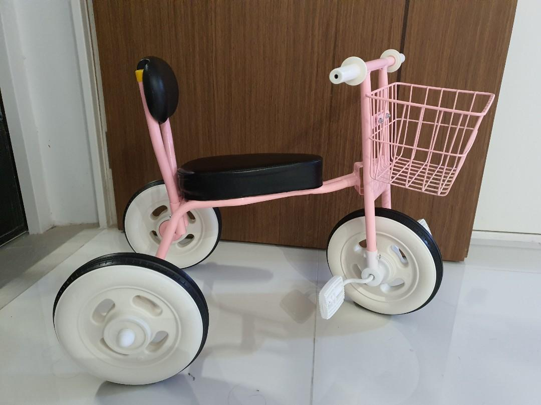 Vintage Kids Tricycle Pink Babies Kids Toys Walkers On Carousell