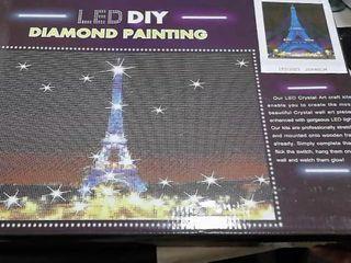 LED DIY Diamond Painting